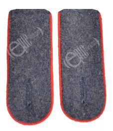 WW2 Luftwaffe Shoulder Boards EM (Red piped)