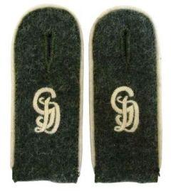 Grossdeutschland Field Grey Shoulder Boards