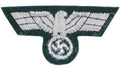 German Army Officer Bullion Cap Eagle