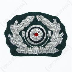 WW2 German Army Visor Cap Wreath and Cockade