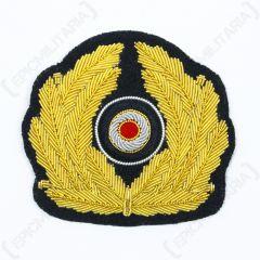 WW2 German Kriegsmarine Visor Cap Wreath and Cockade