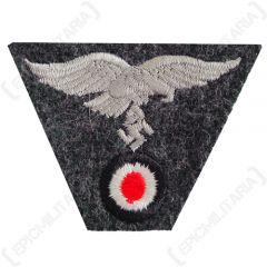 WW2 German M43 Cap Eagle/Cockade Luftwaffe Blue