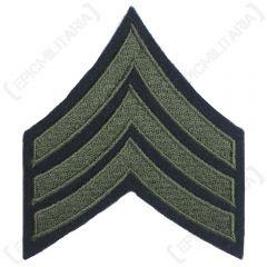 Dark blue Sergeant Stripe with Olive detail