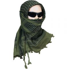 Shemagh Headscarf - Olive and Black 1