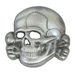 SS Cap Skull (Antique effect) Thumbnail