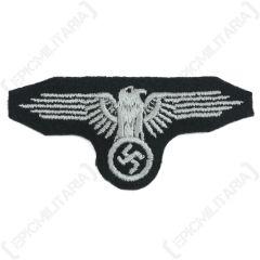 SS Cap Eagle (EM/NCO)-grey woven