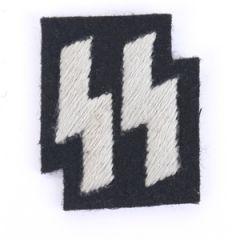 SS Emblem Black - Grey thread Thumbnail