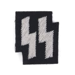 SS Emblem Black - Silver wire Thumbnail