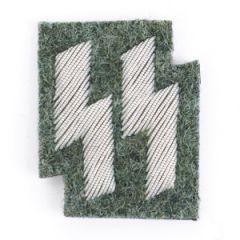 SS Emblem Field grey - Silver wire Thumbnail