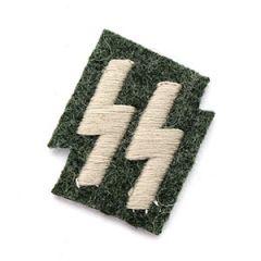 SS Emblem Field grey - Grey thread Thumbnail