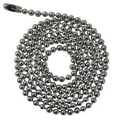 Dog Tag Chain - Stainless Steel - 1 metre