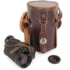 Swedish Army WW2 Monocular with Leather Case
