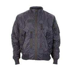 US Tactical Flight Jacket - Urban Grey Thumbnail