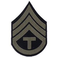 Technician/3rd Grade Rank Stripes Olive Thumbnail