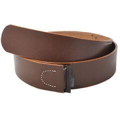 German EM Luftwaffe Brown Leather Belt