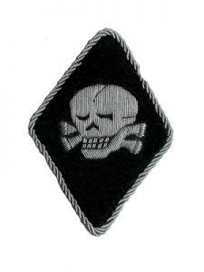 Totenkopf Sleeve Diamond - Silver edging