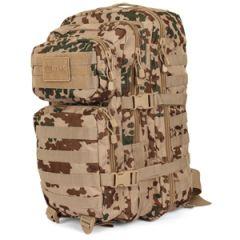 36L Molle Assault Pack Large - Tropentarn Camo