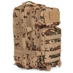 20L Molle Assault Pack Regular - Tropentarn Camo
