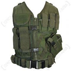 Olive Green USMC Tactical Vest