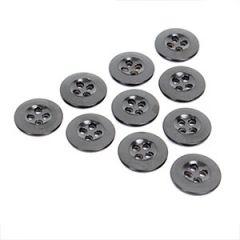 Black Vintage Buttons - Type 8 - 1.7 cm