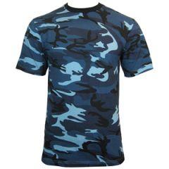 Urban Blue Camo T-shirt thumbnail