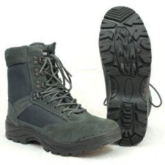 Urban Grey Tactical Army Boot with YKK Zipper - Thumbnail