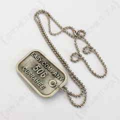 Band of Brothers Dog Tag - 506th Reverse Engraved - Front