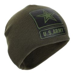 US Army Beanie Hat - Olive