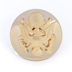 US Army Enlisted Man's Visor Cap Badge Thumbnail