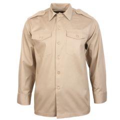 US Army Khaki Long Sleeve Shirt Thumbnail