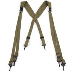 US Army M36 OD Combat Webbing Suspenders