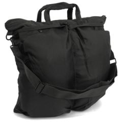 US Helmet Bag with Carrying Strap - Black Thumbnail