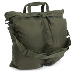 US Helmet Bag with Carrying Strap - Olive Drab Thumbnail