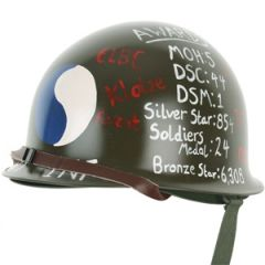 US M1 Helmet with Liner - 29th Infantry Division Tribute Design Thumbnail
