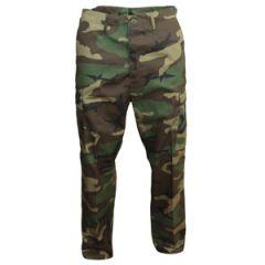 US Ranger BDU Trousers - Woodland - Thumbnail
