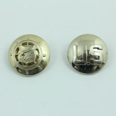 US Transportation Corps and Monogram Collar Discs - Faded - Thumbnail