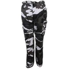 US Womens BDU Urban Camo Trousers Thumbnail