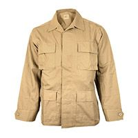 US Ripstop BDU Field Jacket - Coyote