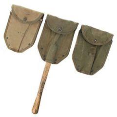 Original WW2 US M43 Shovel Cover Thumbnail