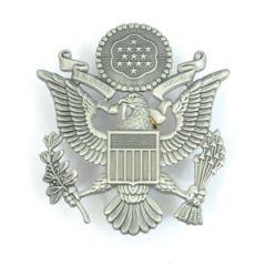 USAF Officer Visor Cap Badge - Thumbnail