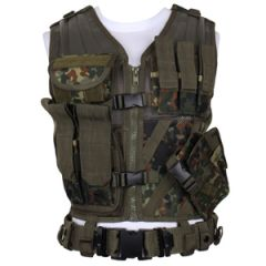 Flecktarn USMC Tactical Vest with Belt
