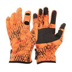 Verney Carron Snake Gloves - Blaze