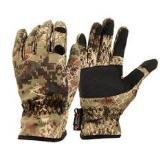 Verney Carron Snake Gloves - Forest
