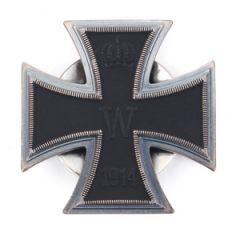 Vaulted 1914 Iron Cross 1st Class Screwback Thumbnail