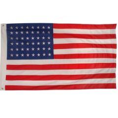 Vintage-Style US Flag (48 Stars) 90 x 150cm (3 x 5 foot)