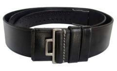 Waffen-SS Officers Black Leather Belt