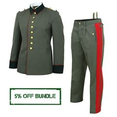 WW2 German General M35 Waffenrock Uniform Bundle Thumbnail