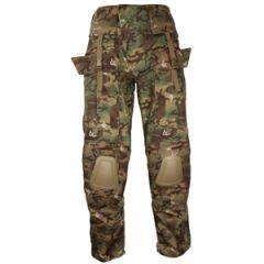 Warrior Combat Trousers - Woodland Arid