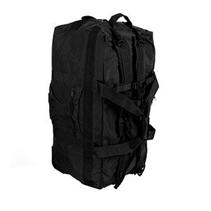 Duffle Bag with Wheels - 118L - Black
