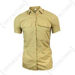 Original Womens Khaki Shirt - Short Sleeve Thumbnail